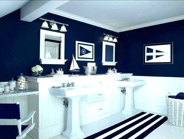 Small Bathroom Beach Decorating Ideas With Images Nautical
