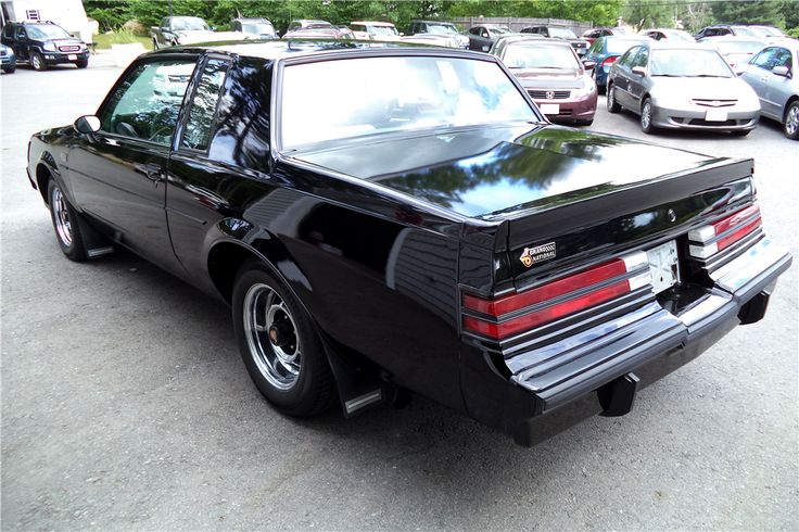 1987 BUICK GRAND NATIONAL COUPE - 197170