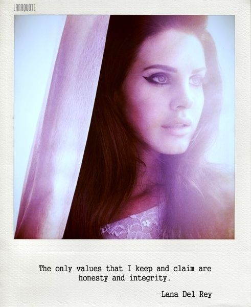 Short Quotes Lana Del Rey