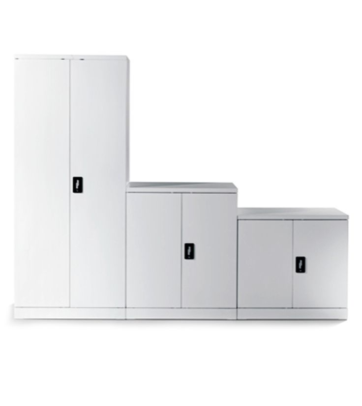 1S Storage - workspace storage design with clean lines and flexibility for office space design