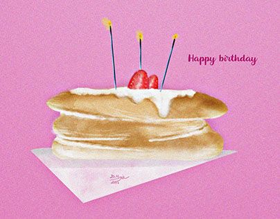 "Check out new work on my @Behance portfolio: ""Ilustration: Pancake"" http://be.net/gallery/31392255/Ilustration-Pancake"