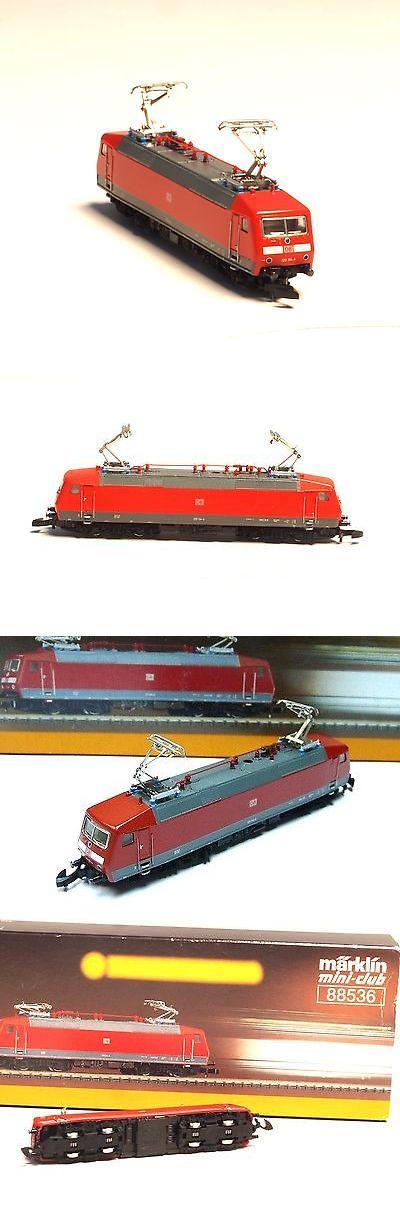 Locomotives 96856: 88536 Marklin Z-Scale Class Br 120 General Purpose Electric Locomotive Db 5 Pole -> BUY IT NOW ONLY: $179 on eBay!