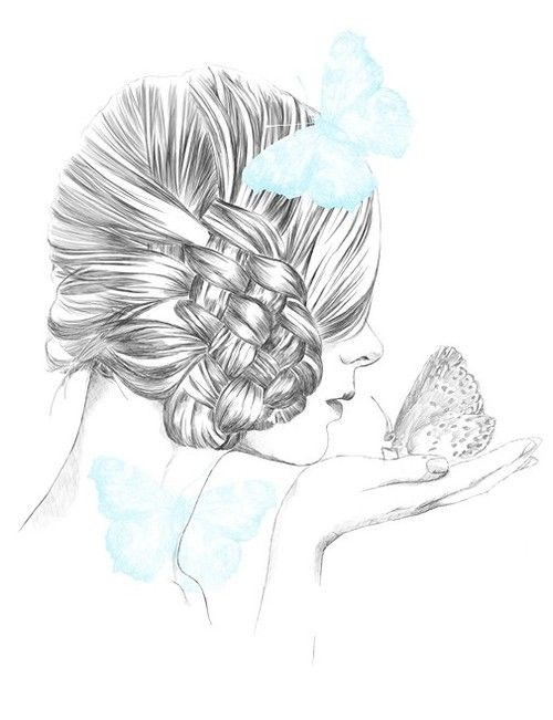 24 best dessin coiffure images on pinterest