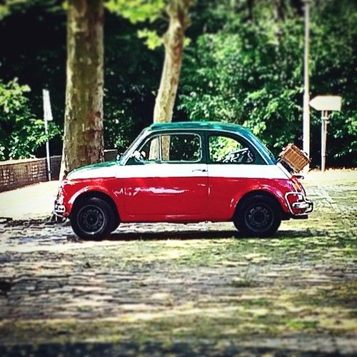 From Italy with love #Fiat500