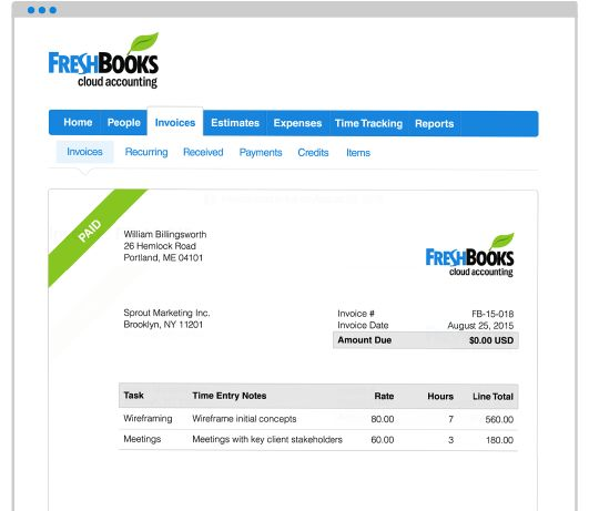 Best 25+ Send invoice ideas on Pinterest Freelance designer - freshbooks invoice templates