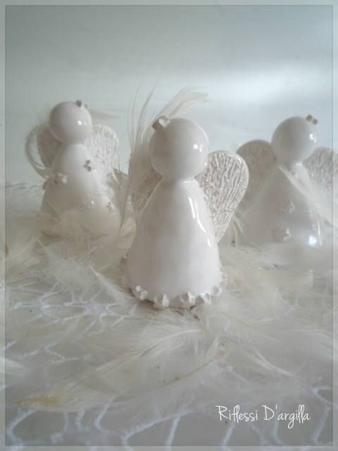 CERAMICS DECORATIONS HANDMADE Ceramic Creations by Riflessi D'argilla. #ceramic #handcraft #handmade