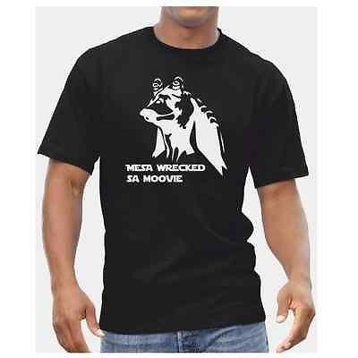 Jaja Binks Tshirt - Mesa Wrecked Sa Moovie - Star Wars Mens Funny DVD Yoda Gift