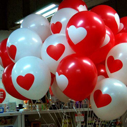 Ну вечеринку декор латекс шары 10 шт. в форме сердца новинка шары ну вечеринку свадьба день святого валентина день рождения