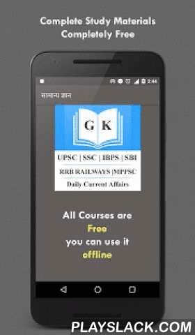 GK - RRB UPSC SSC MPPSC UPPSC  Android App - playslack.com ,  भारत का सबसे उपुक्त जीके सभी प्रतियोगी परीक्षा के लिए 15 हज़ार प्रस्न A Complete General Knowledge and Current Affairs Application for all students,This app is fully in Hindi Language and all question are objective type, our app contain followingfeatures like :-- 15 thousand Objective Type GK Questions-- 5 thousand very Important Gk and Current Affairs questions from various Categories -- General Knowledge in Hindi (10,000…