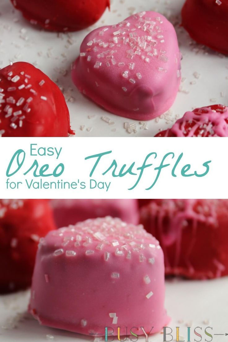 Easy No Bake Oreo Cookie Truffles For Valentine S Day Recipe