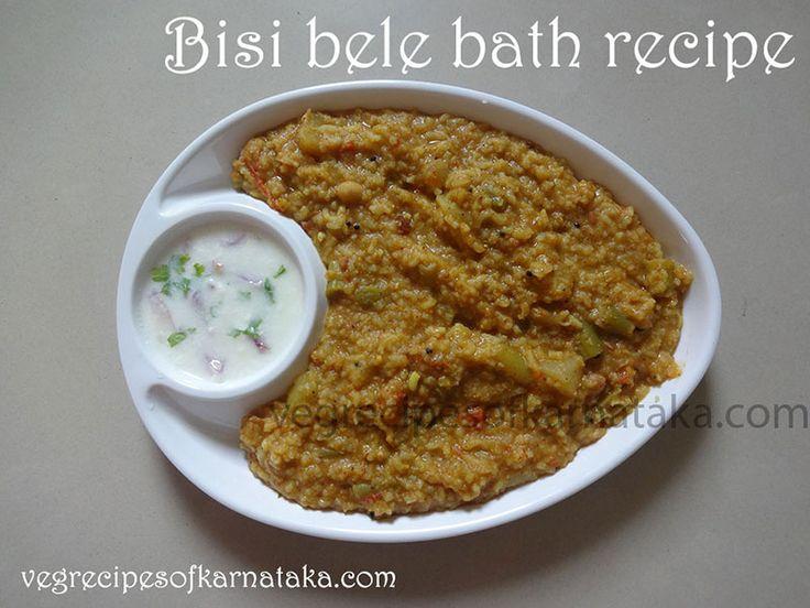 easy bisibele bath recipe