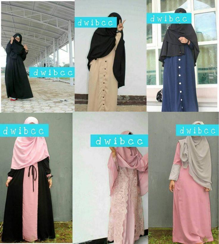 Temukan beragam model pakaian muslimah di @dwibcc  Desain SIMPEL NYAMAN dan KECE Follow & order sekarang @dwibcc