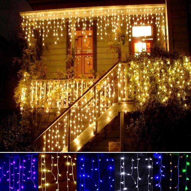 Garage Journal Lights: 17 Best Ideas About Fairy Light Curtain On Pinterest