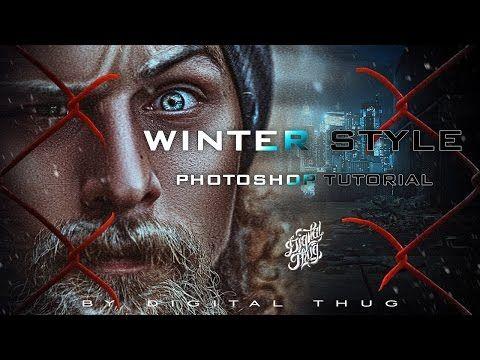Winter style | Художественная обработка портрета | by Alex Crow - YouTube