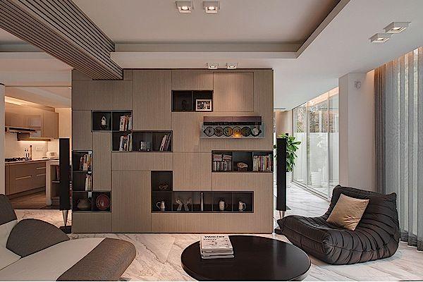Desain Interior Hunian Minimalis dengan Pencahayaan Dramatis ...