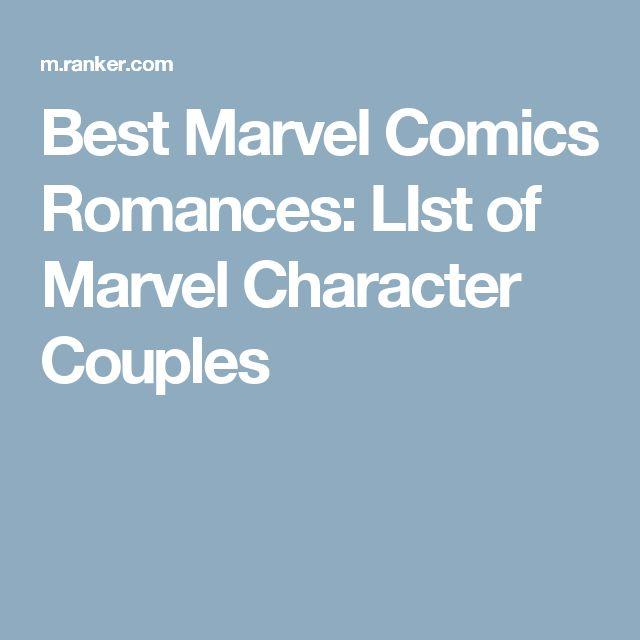 Best Marvel Comics Romances: LIst of Marvel Character Couples