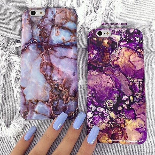 iPhone 7 & 7 Plus cases NOW IN STOCK in GALAXY & PURPLE GALAXY!!  Protect your precious new phones with these one of a kind cases. Link is in our profile: velvetcaviar.com #velvetcaviar