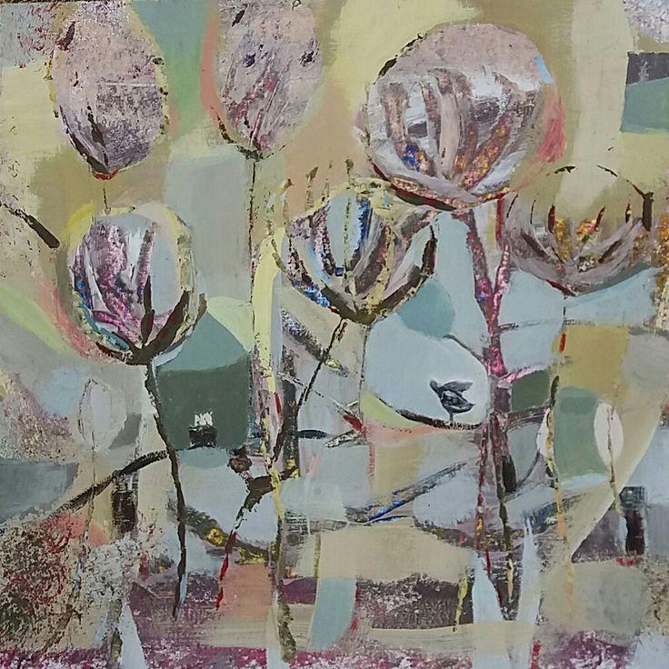 Joanna Golon  Bird 60x60 Acrylic