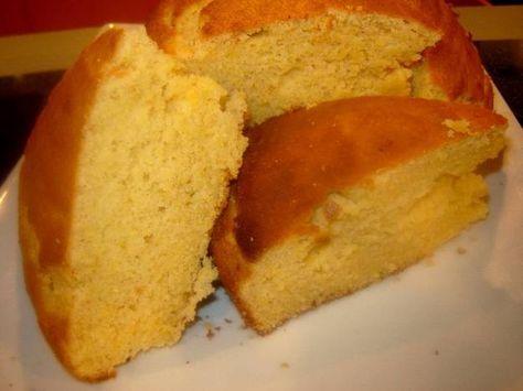 Pan de maíz al estilo dominicano