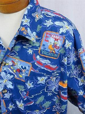 e7f2a3a8 Details about Disneyland Resort Hawaiian Shirt Beach Mickey Donald Goofy  Pluto Men's XXL | Fun Things to Wear to Your Next Luau | Hawaii outfits,  Hawaiian, ...