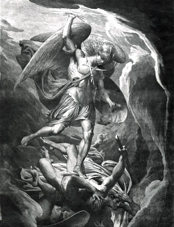 James Barry - Fall of Satan