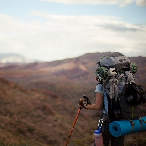 """""""The trail is the thing. Not the end of the trail. Travel too fast, and you miss all that you are traveling for."""""""
