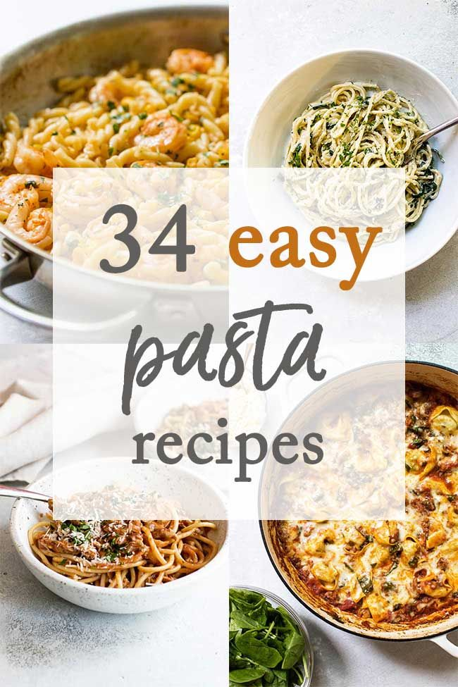 34 Easy Pasta Recipes Dinner Recipes Cooking Pasta Easy Easy Pasta Recipes Easy Pasta Cheap Pasta Dinner