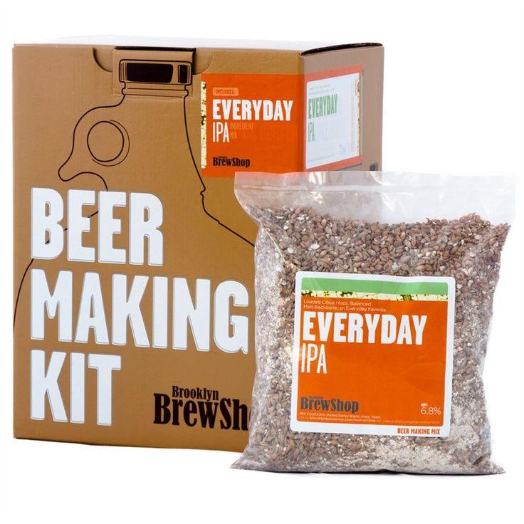 Kit de fabrique de bière maison - Chapters http://www.chapters.indigo.ca/house-and-home/gifts/beer-making-kit-everyday-ipa/855428003009-item.html?ikwid=beer&ikwsec=HouseAndHome&gcs_requestid=0CPCvn_jeg7sCFcN75wodBHAAAA