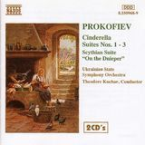 Prokofiev: Cinderella Suites Nos. 1-3; Scythian Suite; On the Dnieper [CD]