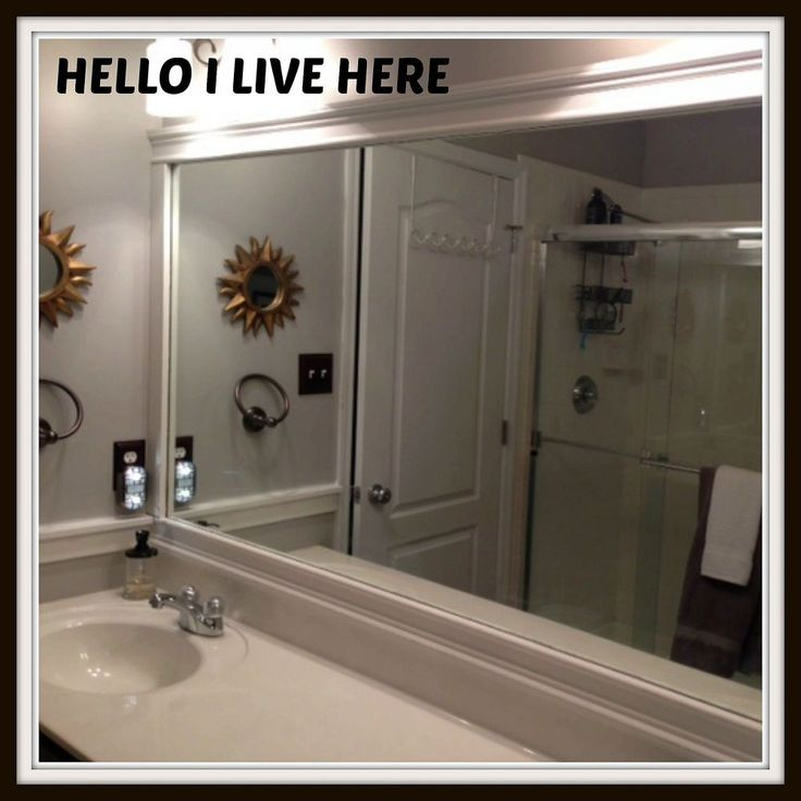 17 Best Ideas About Large Bathroom Mirrors On Pinterest