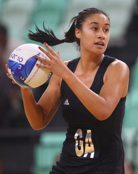 My Netball Hero - New Zealander Maria Tutaia