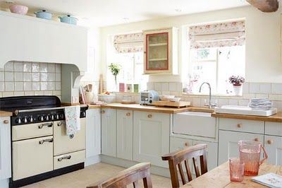 English country cottage--kitchen