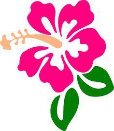 hibiscus drawings | Hibiscus 9 clip art