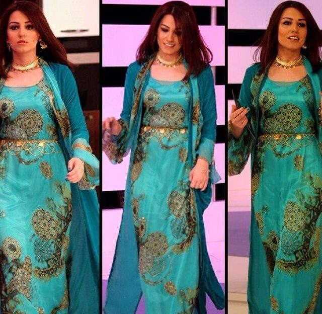 Kurdish Style Wedding Dress | deweddingjpg.com