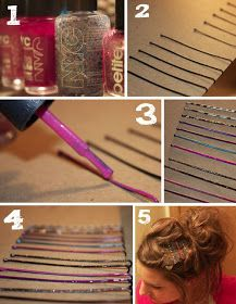 Fabulousity: Last Minute DIY Christmas Gifts. Great hair pins.
