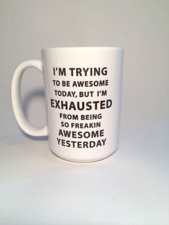 I know you have a friend that NEEDS this mug. Or maybe just buy it for yourself! *****CUSTOMIZATION***** Would you like it to say
