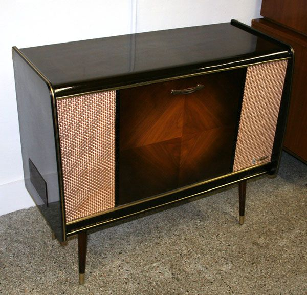Vintage Record Player Console 28