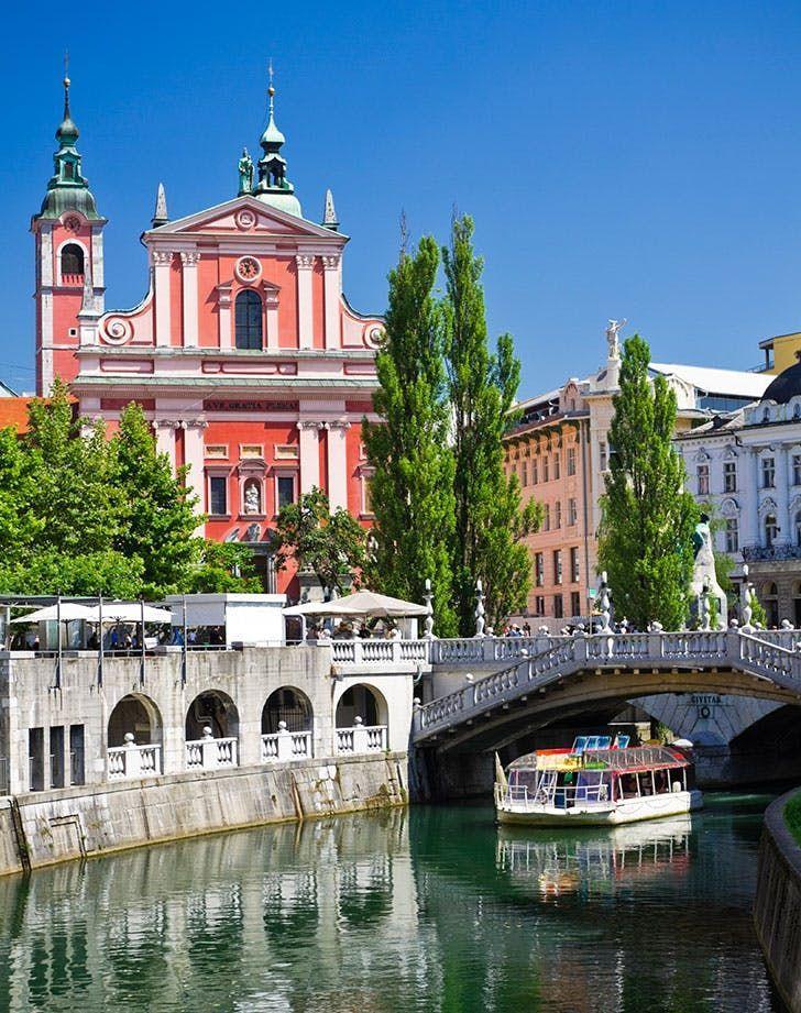 Ljubljana Slovenia 12 Least Expensive Dazzling European Cities Travelbeautiful Ljubljana City Escorted Tours