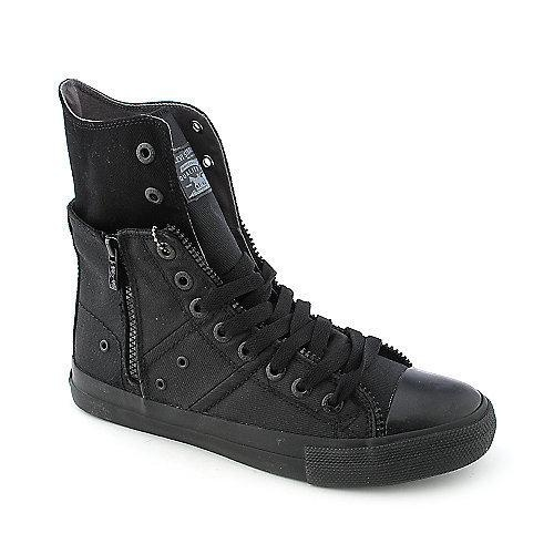 These sneakers are are an edgy twist on a classic look. The Zip Ex Hi features a twill upper, lace-up front, side zipper for easy on/off andalso allows you to easily convert your look from... More Details
