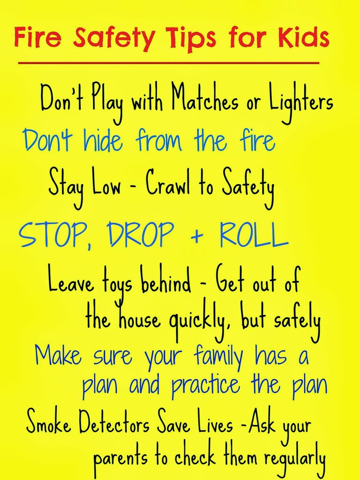 Fire Prevention Week Fire Safety Tips + Our Favorite