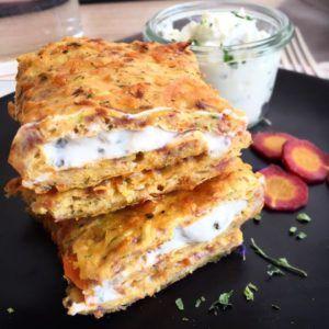 Low Carb Gemüserolle - der perfekte Snack zum Mitnehmen