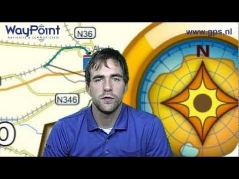 Starten met Garmin BaseCamp - tutorial 02 - waypoint, route en track mak...
