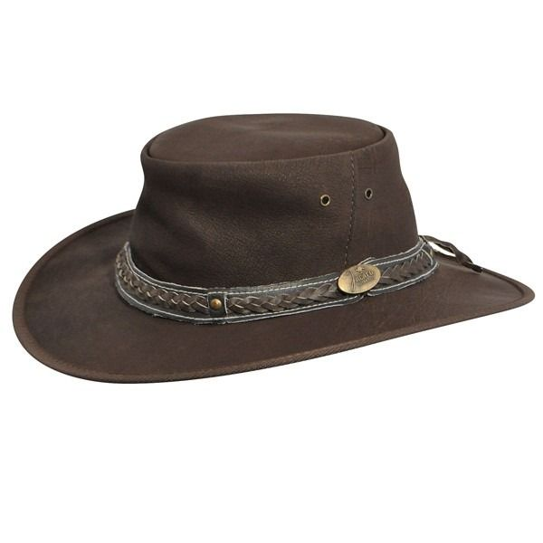 Take a look at our Jacaru Roo Nomad Traveler - Leather Australian Hat - Closeout made by Jacaru as well as other  here at Hatcountry.