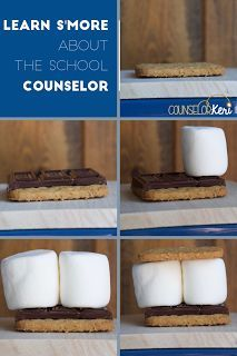 Meet the Counselor: Learn S'more About the School Counselor! This is a simple way to introduce your role as the school counselor and your school counseling program to your students!