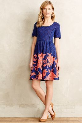 HD in Paris Blushed Blooms Dress  #anthrofave #anthropologie