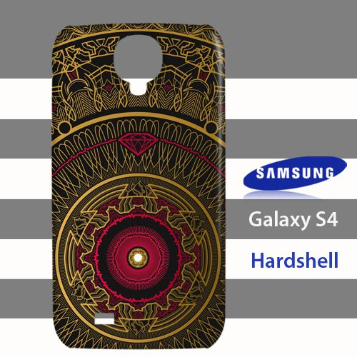 Mandala mon amour Samsung Galaxy S4 Case Cover Hardshell