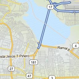 Driving Directions from Luis Munoz Marin International Airport (SJU) in San Juan, Puerto Rico 00979 to 55 Avenida Condado, San Juan, Puerto ...
