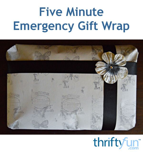 A quick, cost-effective and easy way to make stunning DIY gift wrap.