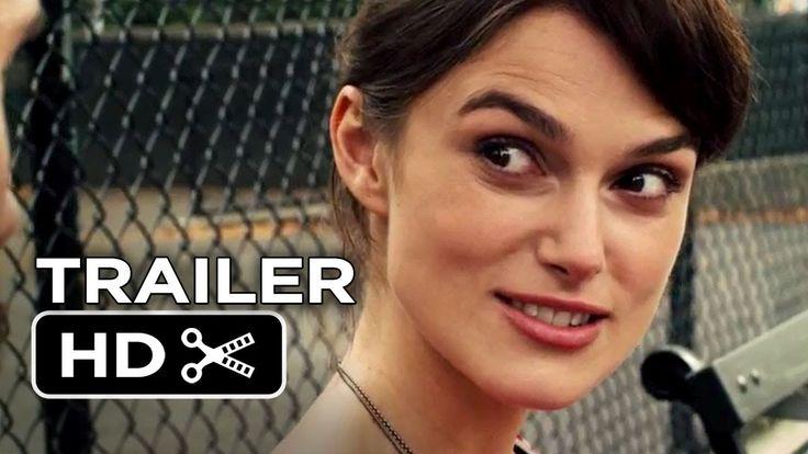 Me gustó mucho esta película, qué bonitas voces. El soundtrack está bien suave!   Begin Again Official Trailer #1 (2014) - Keira Knightley, Adam Levine Mo...