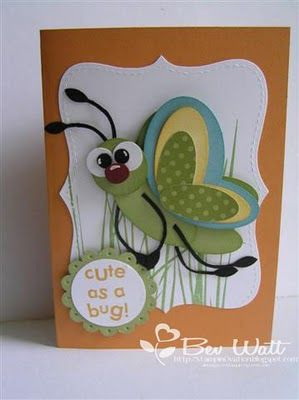 I love this! Would be great for boy cards